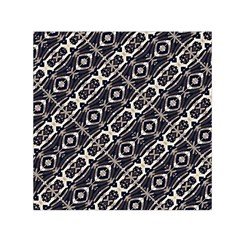 Retro Decorative Pattern Small Satin Scarf (Square)