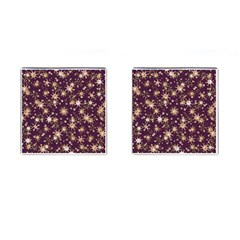 Abstract Pattern Print Cufflinks (square)