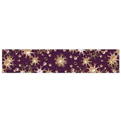 Abstract Pattern Print Flano Scarf (Small)