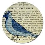 Bird Magnet 5  (Round) Front