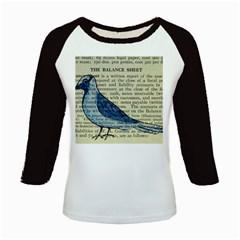 Bird Kids Long Cap Sleeve T-Shirt