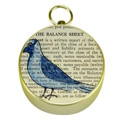 Bird Gold Compass