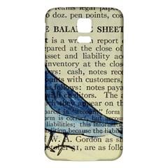 Bird Samsung Galaxy S5 Back Case (White)