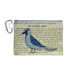 Bird Canvas Cosmetic Bag (Medium)