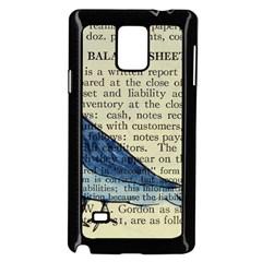 Bird Samsung Galaxy Note 4 Case (Black)