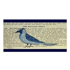 Bird Satin Shawl