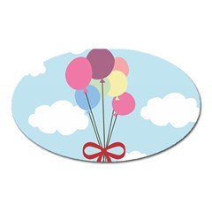 Balloons Magnet (oval)