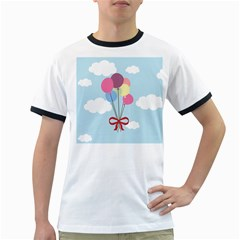 Balloons Men s Ringer T-shirt