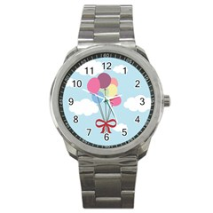 Balloons Sport Metal Watch