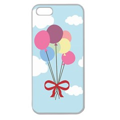 Balloons Apple Seamless Iphone 5 Case (clear)