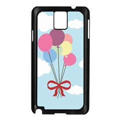 Balloons Samsung Galaxy Note 3 N9005 Case (Black)