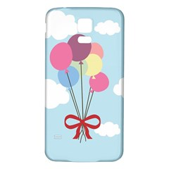 Balloons Samsung Galaxy S5 Back Case (White)