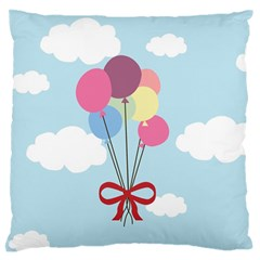 Balloons Standard Flano Cushion Case (Two Sides)