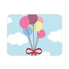 Balloons Double Sided Flano Blanket (Mini)