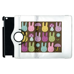 Bunny  Apple iPad 3/4 Flip 360 Case