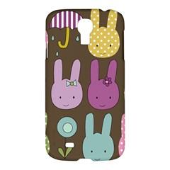 Bunny  Samsung Galaxy S4 I9500/i9505 Hardshell Case