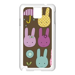 Bunny  Samsung Galaxy Note 3 N9005 Case (White)