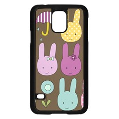 Bunny  Samsung Galaxy S5 Case (black)
