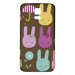 Bunny  Samsung Galaxy S5 Back Case (White)