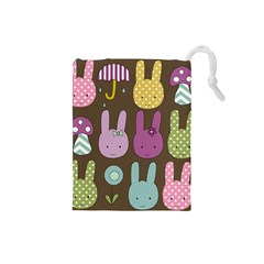 Bunny  Drawstring Pouch (Small)