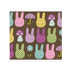 Bunny  Small Satin Scarf (Square)