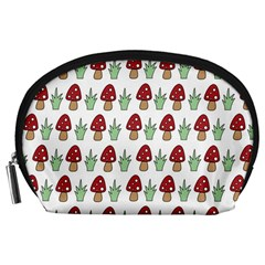 Mushrooms Accessory Pouch (Large)