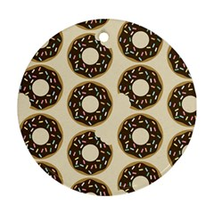 Donuts Round Ornament