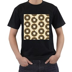 Donuts Men s Two Sided T-shirt (Black)