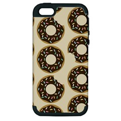 Donuts Apple Iphone 5 Hardshell Case (pc+silicone)