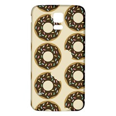 Donuts Samsung Galaxy S5 Back Case (White)