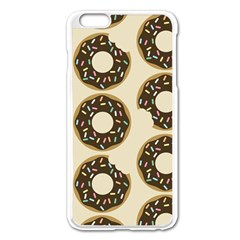 Donuts Apple iPhone 6 Plus Enamel White Case
