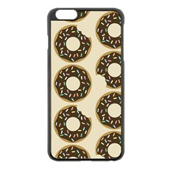 Donuts Apple iPhone 6 Plus Black Enamel Case
