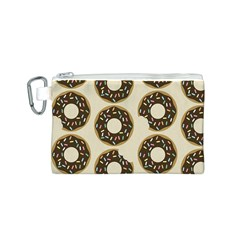 Donuts Canvas Cosmetic Bag (small)