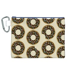 Donuts Canvas Cosmetic Bag (XL)