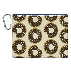 Donuts Canvas Cosmetic Bag (XXL)