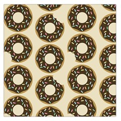 Donuts Large Satin Scarf (square)