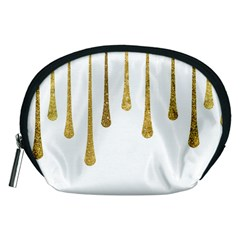 Gold Glitter Paint Accessory Pouch (Medium)