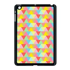 Triangle Pattern Apple Ipad Mini Case (black)