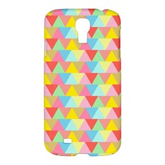 Triangle Pattern Samsung Galaxy S4 I9500/i9505 Hardshell Case