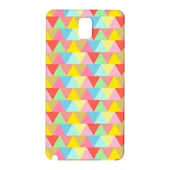 Triangle Pattern Samsung Galaxy Note 3 N9005 Hardshell Back Case