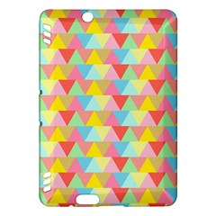 Triangle Pattern Kindle Fire HDX Hardshell Case