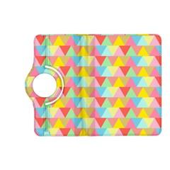 Triangle Pattern Kindle Fire HD (2013) Flip 360 Case