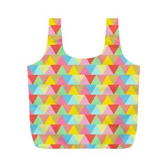 Triangle Pattern Reusable Bag (m)