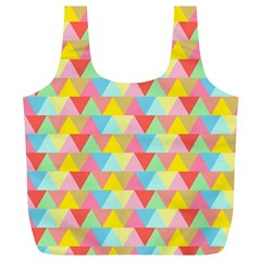 Triangle Pattern Reusable Bag (xl)