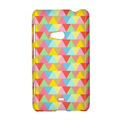 Triangle Pattern Nokia Lumia 625 Hardshell Case