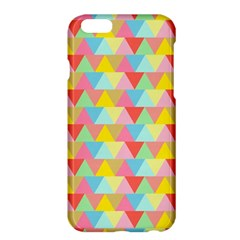 Triangle Pattern Apple Iphone 6 Plus Hardshell Case