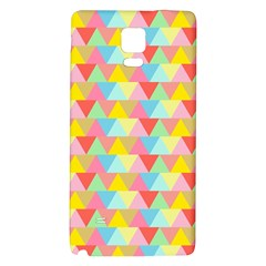Triangle Pattern Samsung Note 4 Hardshell Back Case