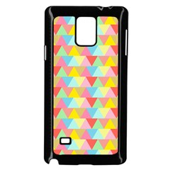 Triangle Pattern Samsung Galaxy Note 4 Case (Black)