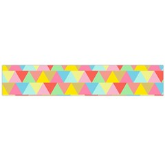Triangle Pattern Flano Scarf (Large)