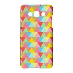 Triangle Pattern Samsung Galaxy A5 Hardshell Case
